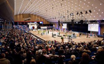 Arenaen på AEG. Foto: Hestefrelst.no.